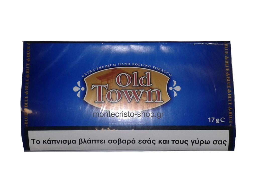 1687 - Καπνός στριφτού Old Town Blue 17g
