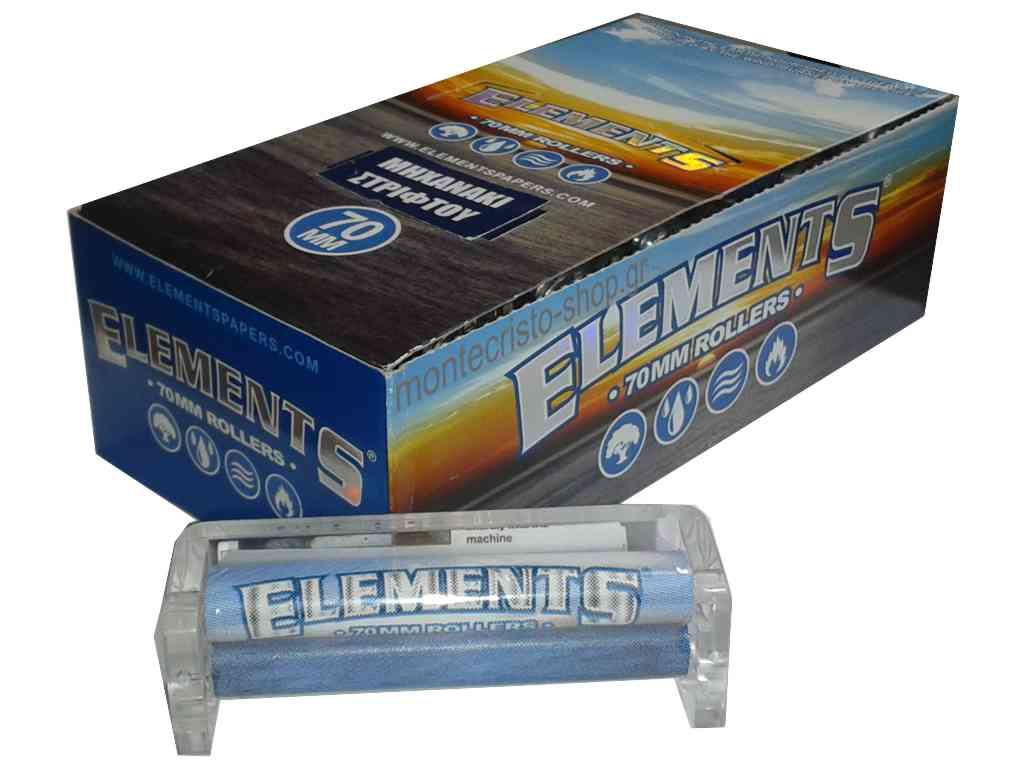 Κουτί με 12 μηχανές στριφτού Element 70mm με ανταλλακτική ταινία