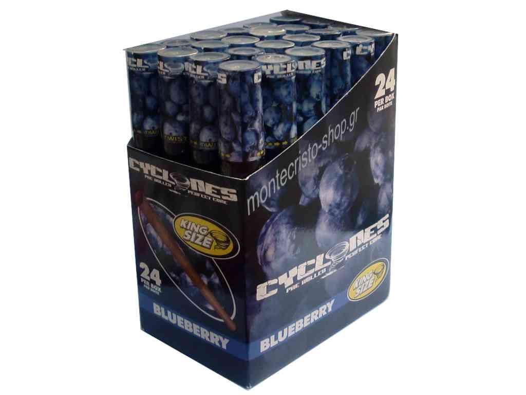 1811 - Κουτί με 24 Κώνους CYCLONE blueberry King Size