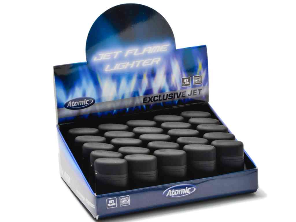 ��� �� 25 ��������� ��������� Atomic Electronic Lighter Jetflame Refillable Black �� ������ ��� ���� 1.10 � ���������