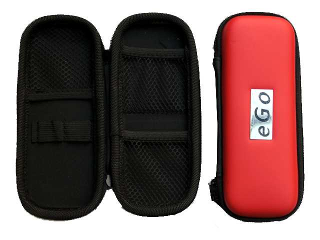 Θήκη με φερμουάρ για ηλεκτρονικό τσιγάρο χρώμα κόκκινο