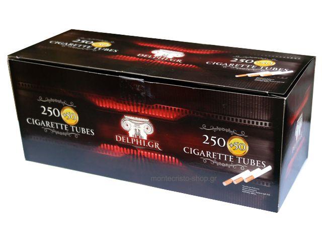 Τσιγάρα για γέμισμα DELPHI με 300 άδεια τσιγάρα