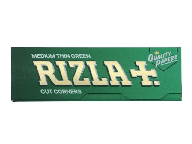 Χαρτάκια Rizla Πράσινα Medium Thin Green