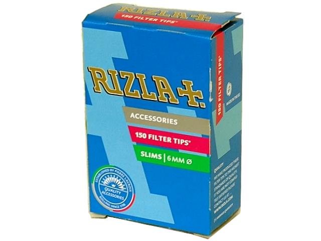 Φιλτράκια RIZLA SLIM 6mm, 150 φιλτράκια