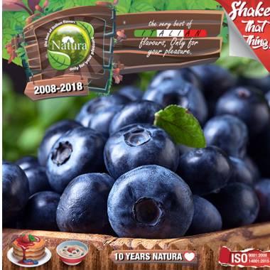 9644 - NATURA SHAKE AND TASTE FOREST BLUEBERRIES 60/100ml (φρούτα του δάσους και βατόμουρα)