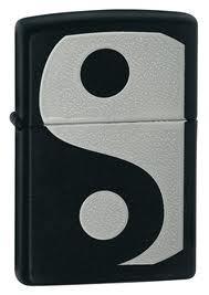 1392 - Zippo αναπτήρας yin yang