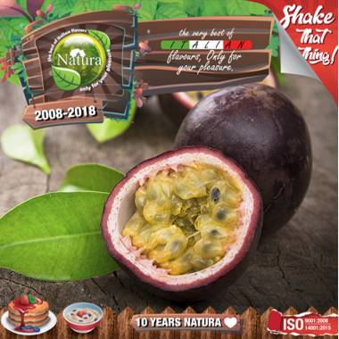 9655 - NATURA SHAKE AND TASTE PASSIONFRUIT BLAST 60/100ml (φρούτα του πάθους)