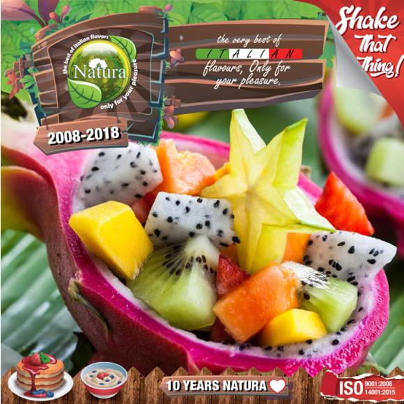 NATURA SHAKE AND TASTE TROPICAL REMIX 60/100ml (τροπικά φρούτα)