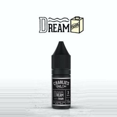 9676 - Charlies DREAM CREAM 10ml (κρέμα βανίλια με φουντούκι και κανέλα)