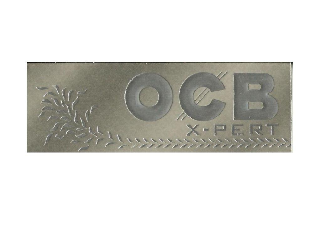 762 - Χαρτάκια 1 & 1/4 OCB X-PERT ασημί 50 φύλλα - 1 και 1 τέταρτο