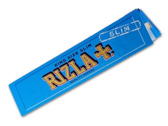 Χαρτάκια στριφτού KING SIZE RIZLA BLUE SLIM Μεγάλο Μπλέ