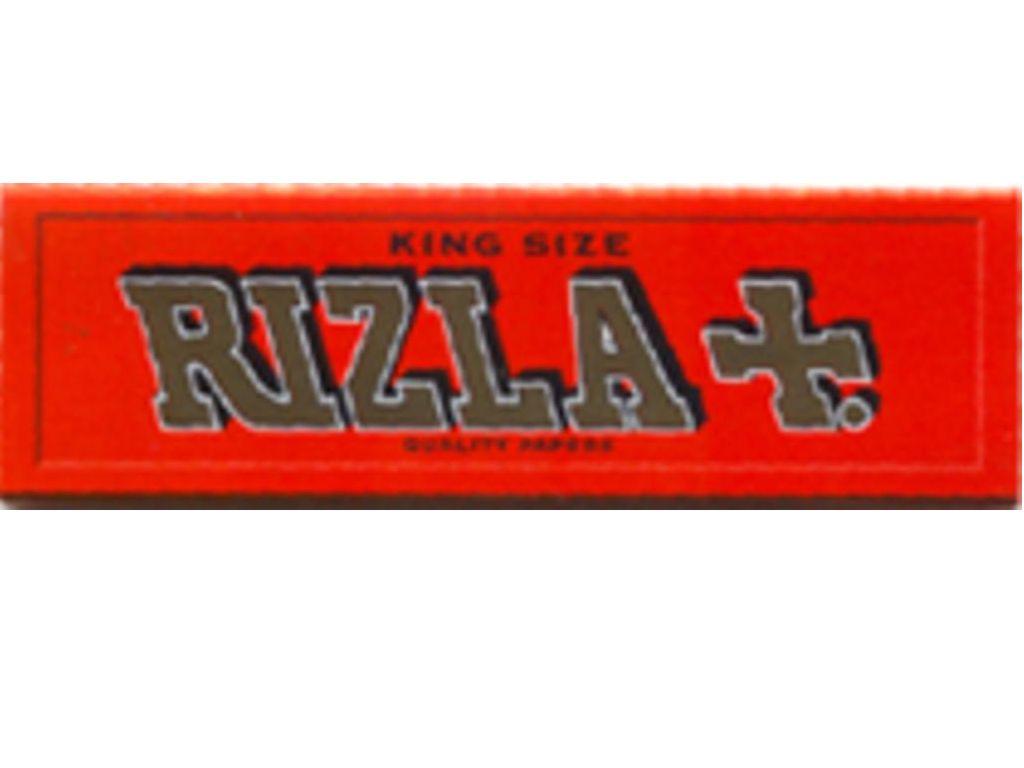 617 - Χαρτάκια KING SIZE RIZLA RED Μεγάλο Κόκκινο