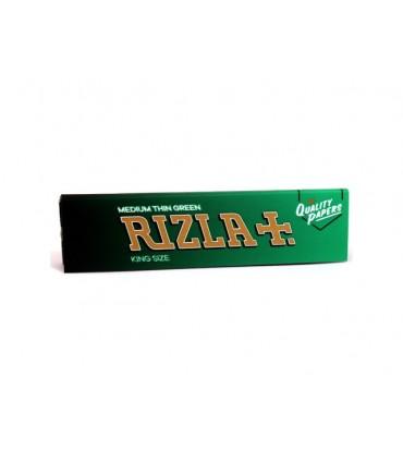 Χαρτάκια στριφτού KING SIZE RIZLA GREEN Μεγάλο Πράσινο