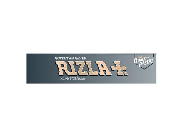 Χαρτάκια King Size Rizla Slim Ασημί Μεγάλο