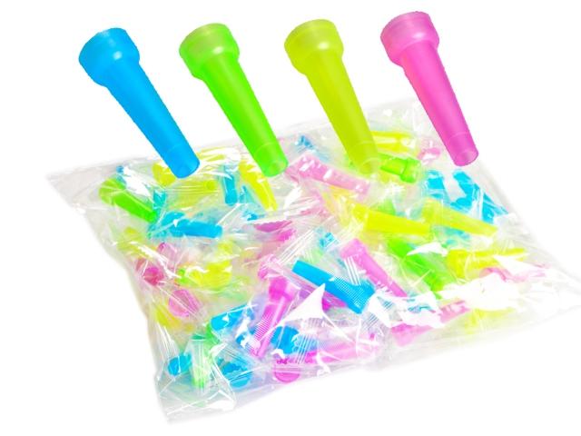 ΠΙΠΑΚΙΑ ΝΑΡΓΙΛΕ Hookah Mouthpiece 4 Colors (συσκευασία των 100) 0123009