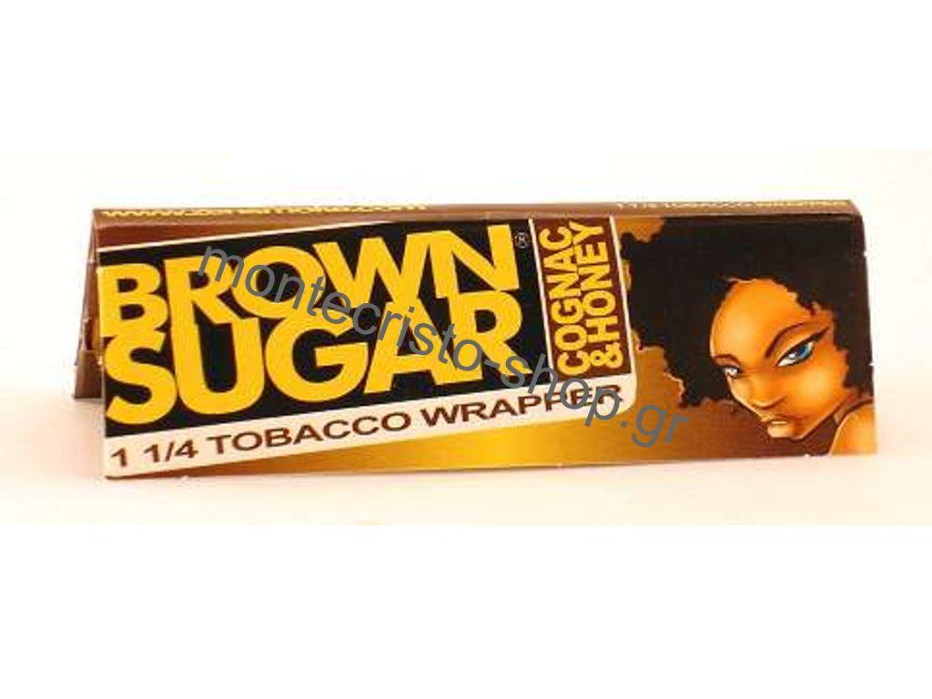Χαρτάκια πουρόφυλλα 1 και 1/4 Brown Sugar COGNAC & HONEY