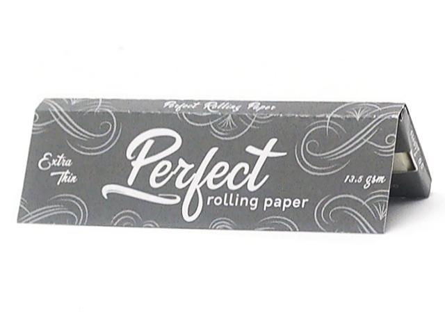 9705 - Χαρτάκια στριφτού Perfect Extra Thin Ασημί Λεπτά