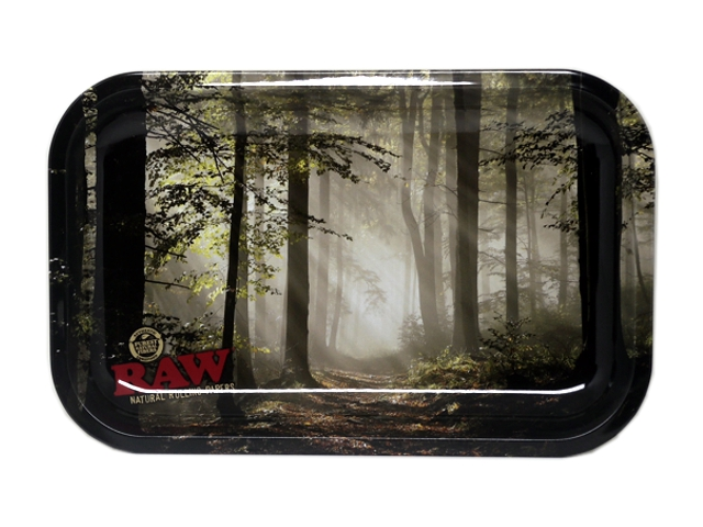 9739 - Δίσκος στριφτού RAW FOREST METAL ROLLING TRAY SMALL 13793