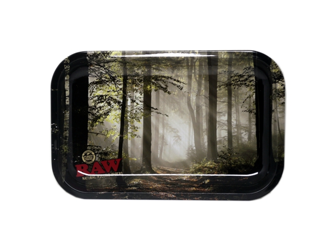 9740 - Δίσκος στριφτού RAW FOREST METAL ROLLING TRAY MINI 13797