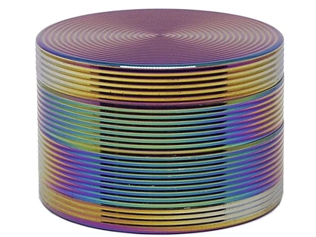 Τρίφτης καπνού RIPPLE RAINBOW GRINDER ΑΛΟΥΜΙΝΙΟ 60mm 4 parts 13755