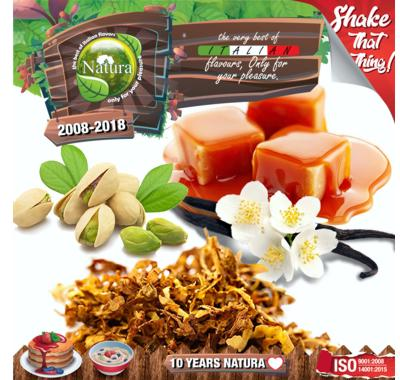 9765 - NATURA SHAKE AND TASTE TRIBECA AND SOHO DELUXE 60/100ml (καπνικό)