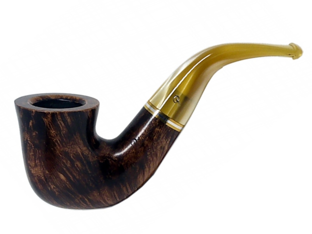 9778 - Peterson Kerry 05 Fishtail πίπα καπνού κυρτή