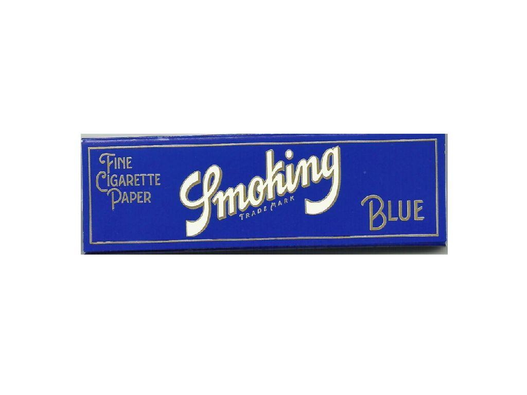 Χαρτάκια Smoking μπλε πολύ λεπτά 60 φύλλα