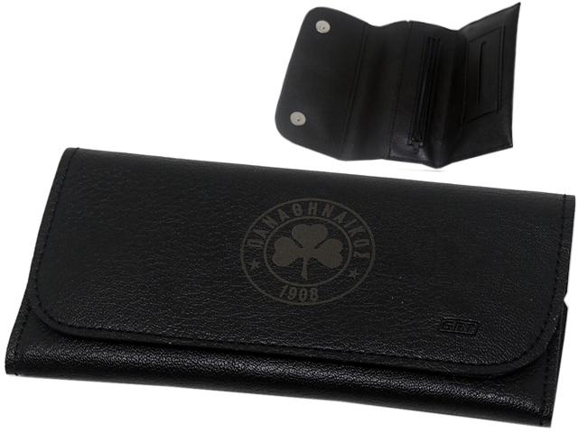 9878 - Αυθεντική καπνοθήκη ΠΑΝΑΘΗΝΑΪΚΟΣ GRT 183 BLACK (με ανεξίτηλη χάραξη lazer)