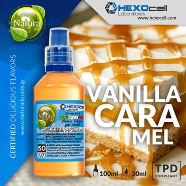 9956 - NATURA MIX SHAKE VAPE VANILLA CARAMEL 30/100ML (βανίλια και καραμέλα)