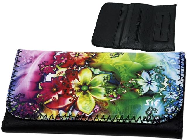 9960 - SIF 17 ROXY PRINTED PRETY FLOWERS καπνοθήκη