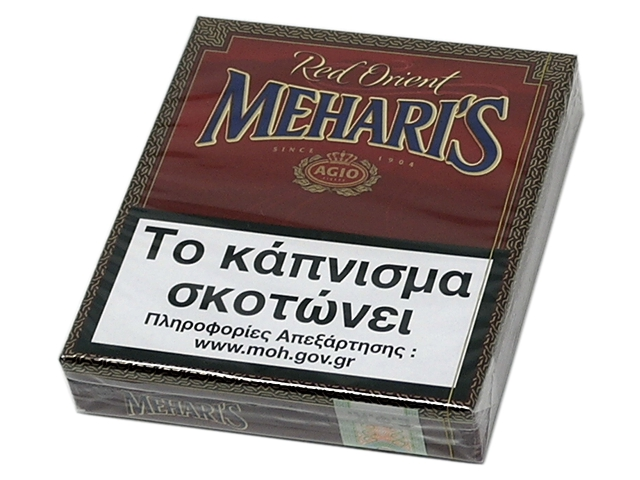MEHARIS RED ORIENT 20 FILTER ΒΑΝΙΛΙΑ