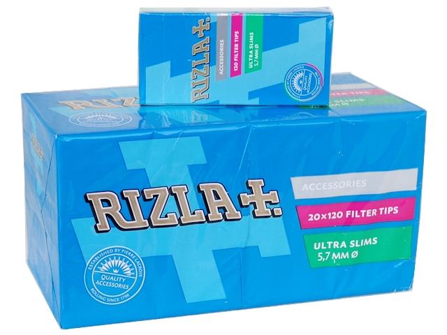 Φιλτράκια RIZLA ULTRA SLIM 5.7mm (κουτί με 20 πακετάκια)