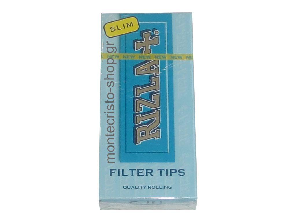 Φιλτράκια RIZLA slim 6mm σε σελοφάν (102 φιλτράκια)