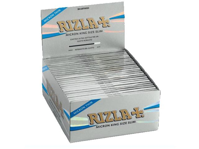 Χαρτάκια στριφτού RIZLA MICRON King Size 32 κουτί των 50 τεμαχίων