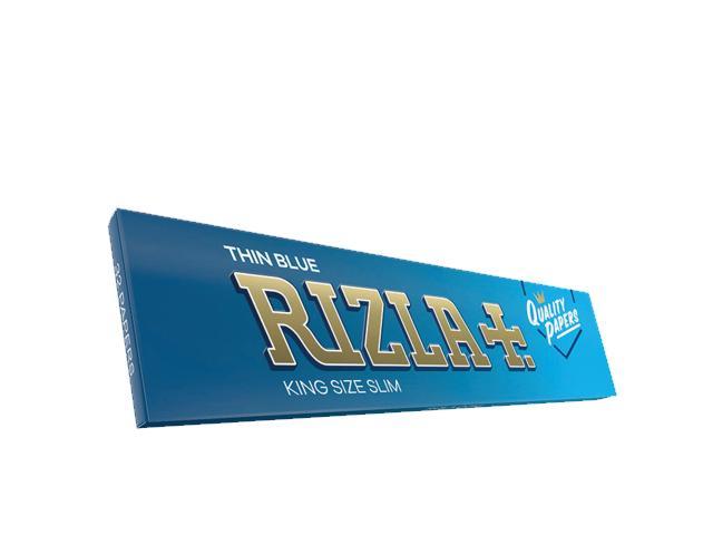Χαρτάκια στριφτού RIZLA THIN BLUE King Size 32