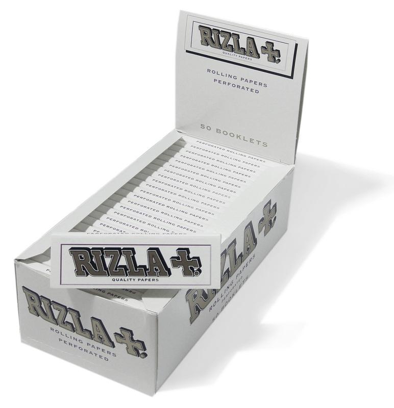 Χαρτάκια Rizla white άσπρα κουτί των 50 τεμαχίων