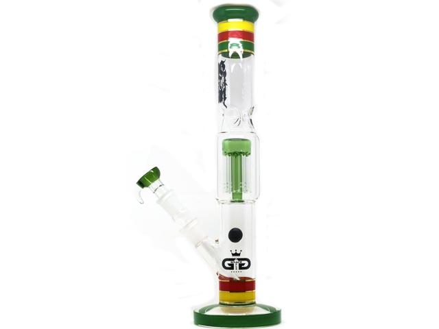9993 - Γυάλινο Μπονγκ G184RS GLASS ICE BONG 38cm GD GRACE GLASS AMSTERDAM ΝΕΡΟΠΙΠΑ ΚΑΙ ΓΙΑ ΠΑΓΟ