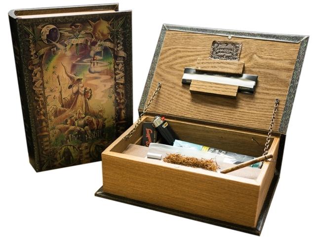 9999 - ORIGINAL KAVATZA BO1 BOOK BOX THE HABIT ΞΥΛΙΝΟ ΚΟΥΤΙ ΓΙΑ ΣΤΡΙΦΤΟ