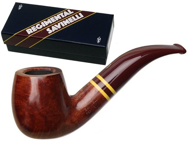 10003 - SAVINELLI REGIMENTAL 616 KS 9mm SMOOTH BURGUNDY πίπα καπνού κυρτή