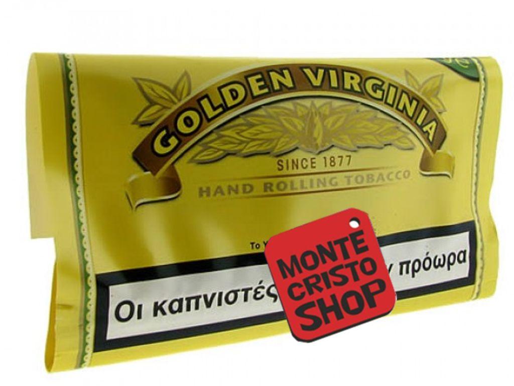 Καπνός στριφτού Golden Virginia, κίτρινος, 30gr