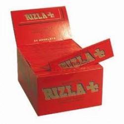 Χαρτάκια KING SIZE RIZLA Κόκκινο κουτί των 50 τεμαχίων