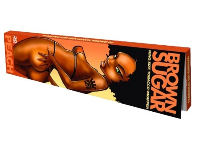 Πουρόφυλλα Brown Sugar Peach Ροδάκινο King Size φύλλα 20