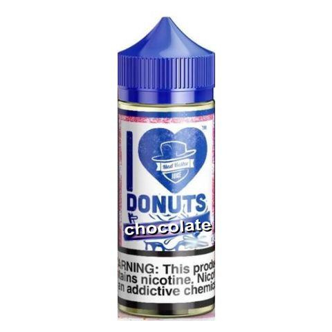 I LOVE DONUTS CHOCOLATE DONUT 50/60ml SHAKE VAPE (σοκολάτα)
