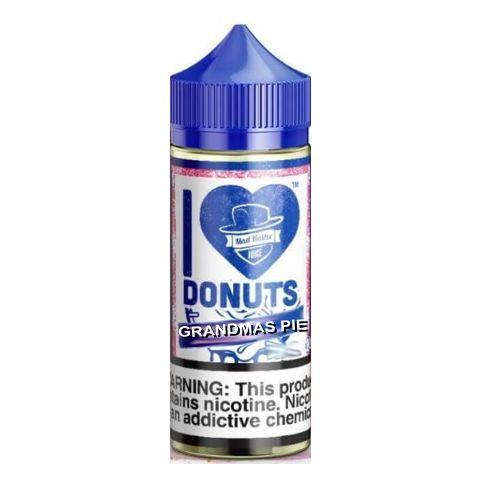 10089 - I LOVE DONUTS GRANDMAS PIE DONUT 50/60ml SHAKE VAPE (η πίτα της γιαγιάς)