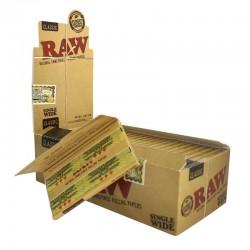 Χαρτάκι RAW Clasic ακατέργαστο διπλό κουτί 25 τεμαχίων 100 φύλλων