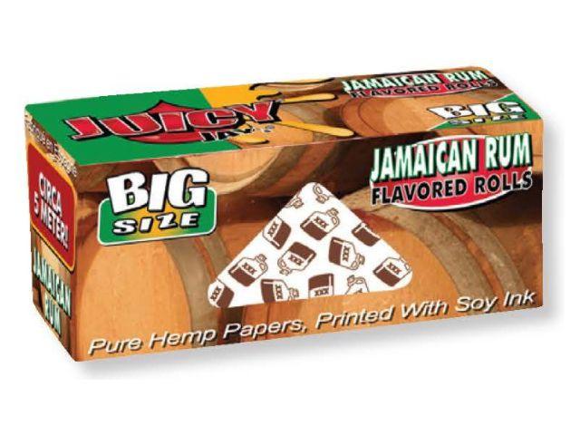 10111 - Ρολό στριφτού Juicy Jays Jamaican Rum Big Size 5 μέτρα (άρωμα ρούμι)