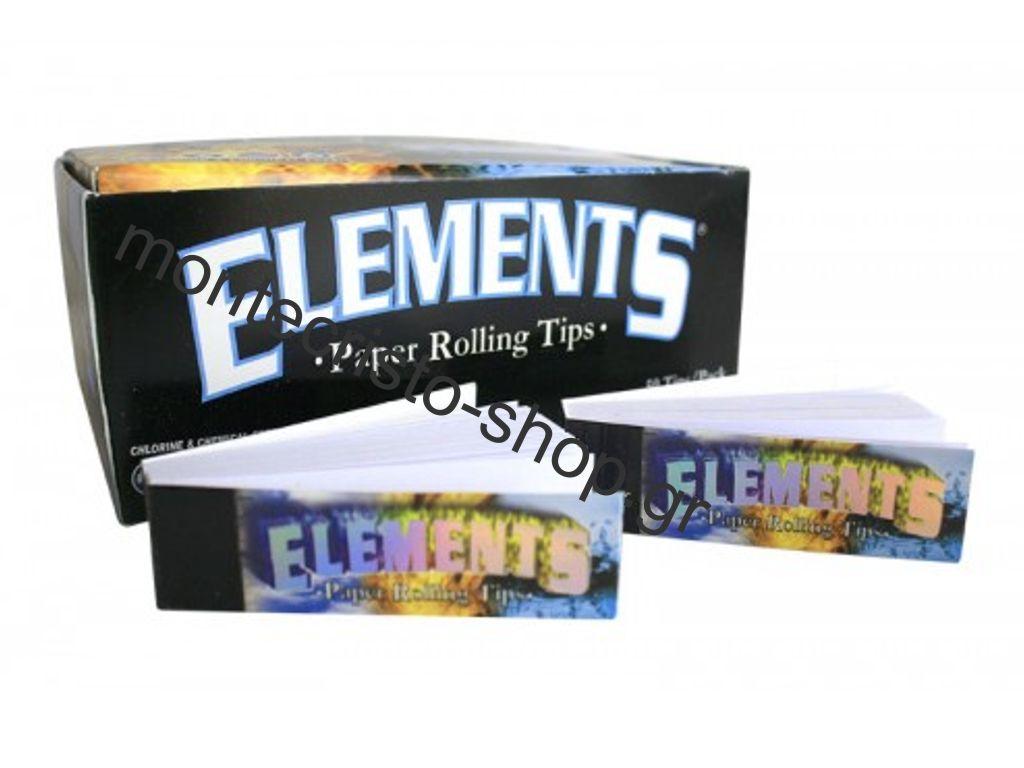 Τζιβάνες ELEMENTS απλές, κουτί 50 τεμ, (€0,19 η τζιβάνα)