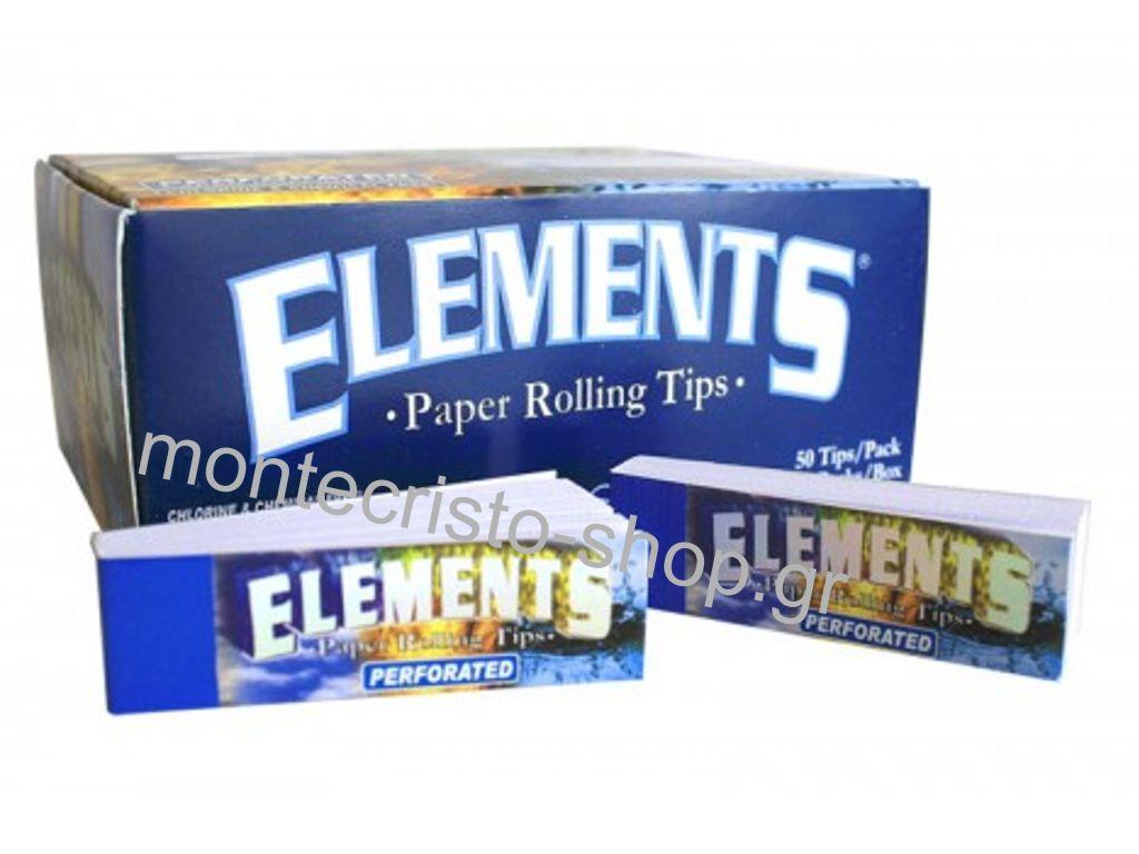 Τζιβάνες ELEMENTS PERFORATED σπαστές 50 φύλλα, κουτί 50 τεμαχίων