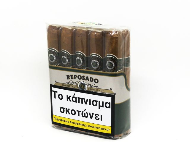 10160 - ΠΟΥΡΑ REPOSADO CONNECTICUT ROBUSTO 10 μεγάλα robusto