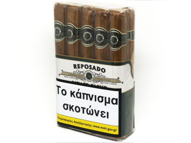10161 - ΠΟΥΡΑ REPOSADO CONNECTICUT TORO 10 μεγάλα churchills